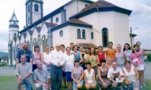 Padre Aloísio - trabalho pastoral em Nereu Ramos